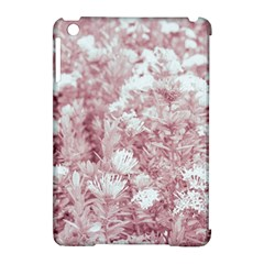 Pink Colored Flowers Apple Ipad Mini Hardshell Case (compatible With Smart Cover)