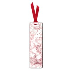 Pink Colored Flowers Small Book Marks