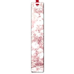 Pink Colored Flowers Large Book Marks