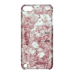 Pink Colored Flowers Apple Ipod Touch 5 Hardshell Case With Stand