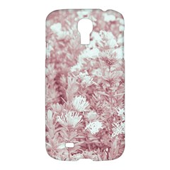 Pink Colored Flowers Samsung Galaxy S4 I9500/i9505 Hardshell Case