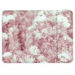 Pink Colored Flowers Samsung Galaxy Tab 7  P1000 Flip Case