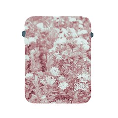 Pink Colored Flowers Apple Ipad 2/3/4 Protective Soft Cases