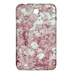 Pink Colored Flowers Samsung Galaxy Tab 3 (7 ) P3200 Hardshell Case