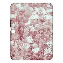 Pink Colored Flowers Samsung Galaxy Tab 3 (10 1 ) P5200 Hardshell Case