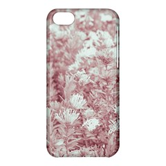 Pink Colored Flowers Apple Iphone 5c Hardshell Case