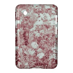 Pink Colored Flowers Samsung Galaxy Tab 2 (7 ) P3100 Hardshell Case