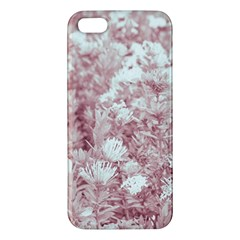 Pink Colored Flowers Iphone 5s/ Se Premium Hardshell Case
