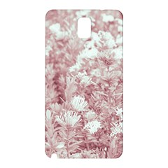 Pink Colored Flowers Samsung Galaxy Note 3 N9005 Hardshell Back Case