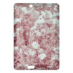 Pink Colored Flowers Amazon Kindle Fire Hd (2013) Hardshell Case