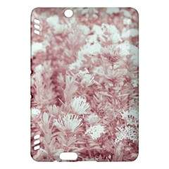 Pink Colored Flowers Kindle Fire Hdx Hardshell Case