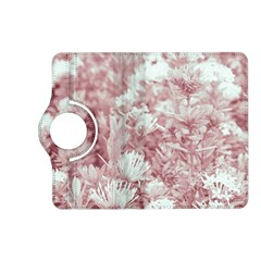 Pink Colored Flowers Kindle Fire Hd (2013) Flip 360 Case
