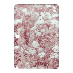 Pink Colored Flowers Samsung Galaxy Tab Pro 10 1 Hardshell Case