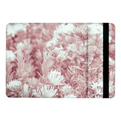 Pink Colored Flowers Samsung Galaxy Tab Pro 10 1  Flip Case