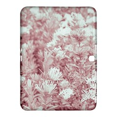 Pink Colored Flowers Samsung Galaxy Tab 4 (10 1 ) Hardshell Case