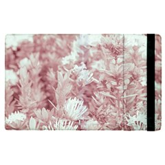 Pink Colored Flowers Apple Ipad Pro 12 9   Flip Case