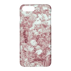 Pink Colored Flowers Apple Iphone 7 Plus Hardshell Case
