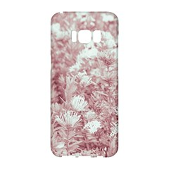 Pink Colored Flowers Samsung Galaxy S8 Hardshell Case
