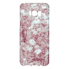 Pink Colored Flowers Samsung Galaxy S8 Plus Hardshell Case