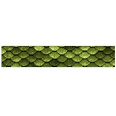 Green Mermaid Scales   Flano Scarf (large)