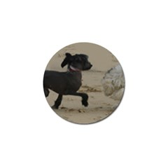 2 Chinese Crested Playing Golf Ball Marker (4 Pack)