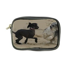 2 Chinese Crested Playing Coin Purse