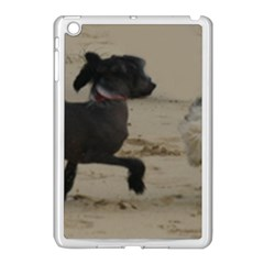 2 Chinese Crested Playing Apple Ipad Mini Case (white)