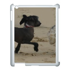 2 Chinese Crested Playing Apple Ipad 3/4 Case (white)