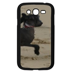 2 Chinese Crested Playing Samsung Galaxy Grand Duos I9082 Case (black)