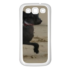2 Chinese Crested Playing Samsung Galaxy S3 Back Case (white)