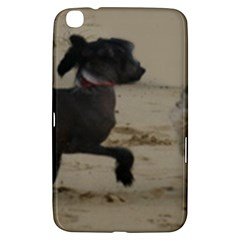2 Chinese Crested Playing Samsung Galaxy Tab 3 (8 ) T3100 Hardshell Case