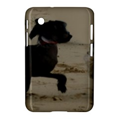 2 Chinese Crested Playing Samsung Galaxy Tab 2 (7 ) P3100 Hardshell Case