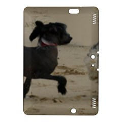 2 Chinese Crested Playing Kindle Fire Hdx 8 9  Hardshell Case