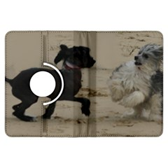 2 Chinese Crested Playing Kindle Fire Hdx Flip 360 Case
