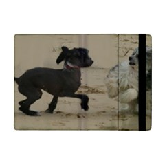 2 Chinese Crested Playing Ipad Mini 2 Flip Cases