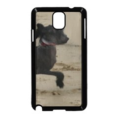 2 Chinese Crested Playing Samsung Galaxy Note 3 Neo Hardshell Case (black)