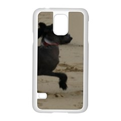 2 Chinese Crested Playing Samsung Galaxy S5 Case (white)