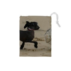 2 Chinese Crested Playing Drawstring Pouches (small)