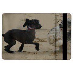 2 Chinese Crested Playing Ipad Air 2 Flip