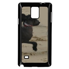 2 Chinese Crested Playing Samsung Galaxy Note 4 Case (black)