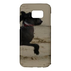 2 Chinese Crested Playing Samsung Galaxy S7 Edge Hardshell Case