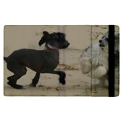 2 Chinese Crested Playing Apple Ipad Pro 12 9   Flip Case