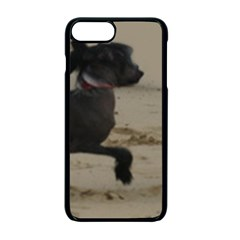 2 Chinese Crested Playing Apple Iphone 7 Plus Seamless Case (black)