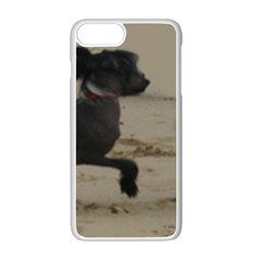 2 Chinese Crested Playing Apple Iphone 7 Plus White Seamless Case