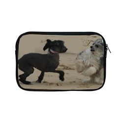 2 Chinese Crested Playing Apple Macbook Pro 13  Zipper Case