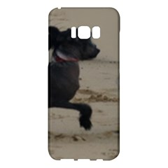 2 Chinese Crested Playing Samsung Galaxy S8 Plus Hardshell Case