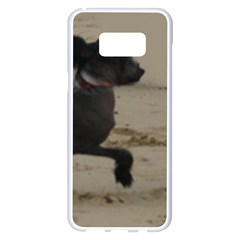 2 Chinese Crested Playing Samsung Galaxy S8 Plus White Seamless Case