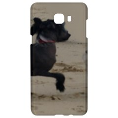 2 Chinese Crested Playing Samsung C9 Pro Hardshell Case