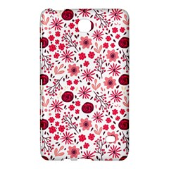 Red Floral Seamless Pattern Samsung Galaxy Tab 4 (8 ) Hardshell Case