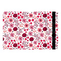 Red Floral Seamless Pattern Apple Ipad Pro 10 5   Flip Case